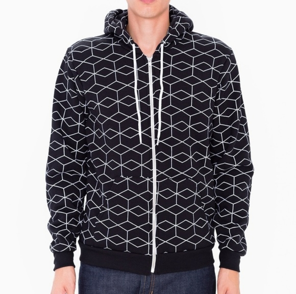 AA geometric hoodie